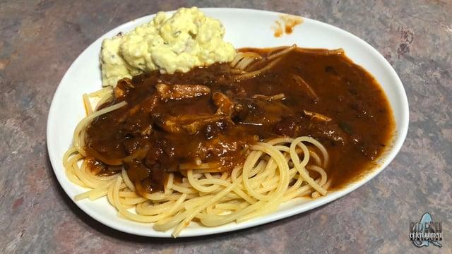 Alicia's Coon-Ass Spaghetti
